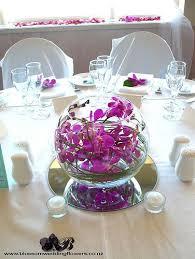 Orchid Centerpieces Purple Orchid Centerpieces Bowl Google Search Sarah F
