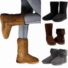 womens boots for winter winter boots s faux fur suede mid calf warm fashion