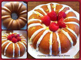 lemon bundt cake canning and cooking at home