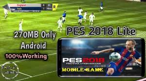pes apk file how to pes 18 lite apk obb on android 270mb only