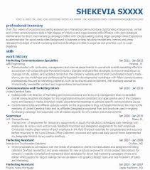Database Specialist Resume Best Communications Specialist Resume Example Livecareer