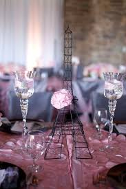 Paris Centerpieces French Themed Baby Shower Sparkler