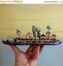 hanukkah sale ceramic menorah tiny houses hanukkah menorah hanukkah by ednapio