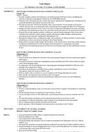 resume setup exles software configuration management resume sles velvet