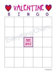 valentines bingo bingo everything charts and