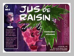 fabricant de plats cuisin駸 etiquettes de jus de raisin mon sac à dos