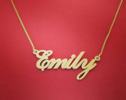 chain with name name on chain etsy