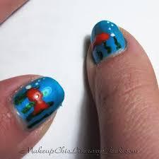 playing with polish spongebob nail art starring my sister u0027s hands