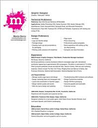 download resume templates for graphic designers