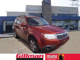 subaru forester red 2017 used 2010 subaru forester for sale gillman subaru southwest