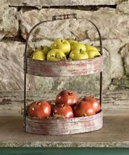 farmhouse metal décor boxes jars u0026 tins ebay