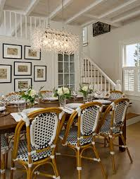 Restoration Hardware Bistro Chair Awesome West Elm Parsons Dining Table Transitional Room Throughout