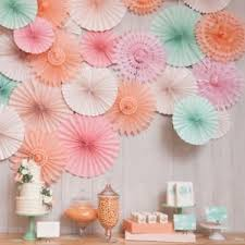 hanging paper fans 5pcs hanging paper fans honeycombs tissue garland wedding party