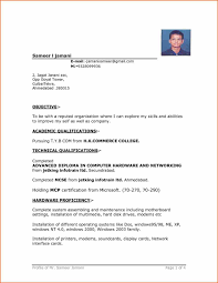 The Best Resume Templates Free by How To Build A Basic Resume Sample Resume123