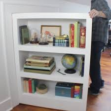 how to make a secret door bookcase i like to make stuff