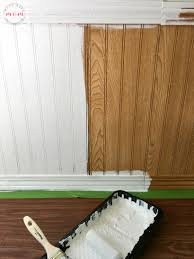 Tips For Painting Wainscoting Easy Rv Remodeling Instructions Rv Makeover Reveal Must Have Mom