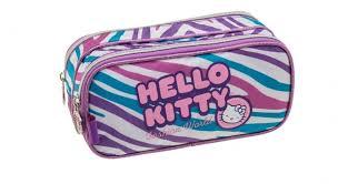 kit mochila grande roda kitty fashion 924t01 lancheira