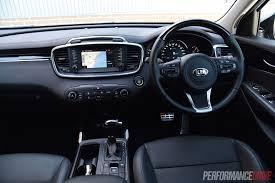 Kia Sorento 2015 Interior 2015 Kia Sorento Sli V6 Review Performancedrive