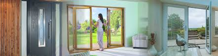 Pvc Folding Patio Doors by New U0026 Replacement Doors Turkington Windows