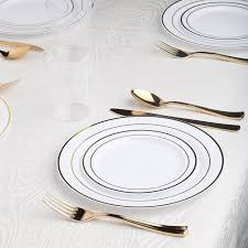 best fancy disposable plates on