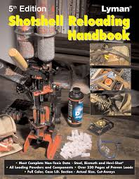 lyman 5th edition shotshell reloading handbook amazon co uk