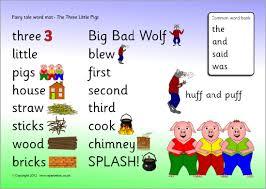 pigs word mat sb4161 sparklebox