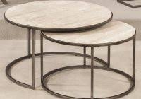 contemporary round coffee table mid century modern coffee tables black white walnut more