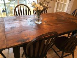 refinish dining room table articles with barn door dining room table tag impressive door