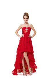 high low prom dresses fancy bridesmaid dresses