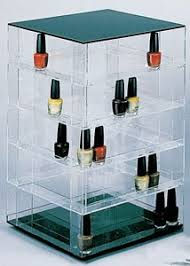 nail polish organizer and display in one drop dead glam