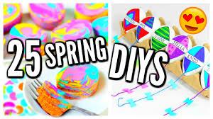 25 diy spring projects room decor ideas treats easter eggs