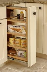Pull Out Kitchen Cabinets Pull Out Spice Rack Cabinet U0026 Kitchen Storage Organizer