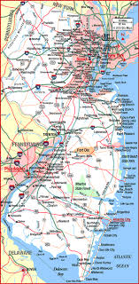 map of nj highway map of new jersey aaccessmaps