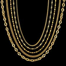 colored necklace chains images 2mm mini two tone stainless steel chain necklace for women female jpg