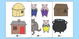pigs stick puppets pigs stick