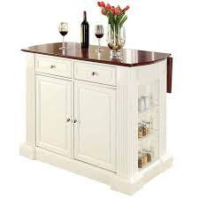 drop leaf kitchen islands beachcrest home byron drop leaf breakfast bar top kitchen island