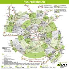 Map Austria Official Map Verkehrsverbund Ost Region Transit Maps
