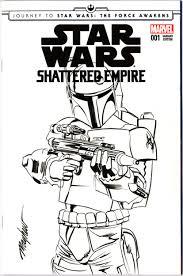 mike mayhew original star wars shattered empire 1 boba fett