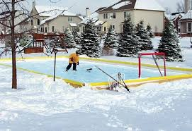 Backyard Ice Skating Rink Rinks And Hockey Kids Backyard Toys