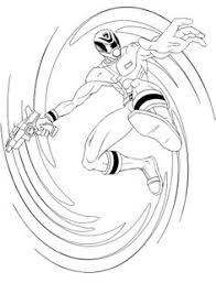 blue spd ranger coloring pages power ranger coloring pages