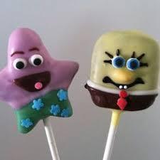 spongebob cake pops cupcakes candy truffles and cake bites