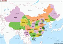 map of china and cities map of china china map with states cities poltical map