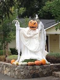 halloween decoration done right pumpkins the head and the shape