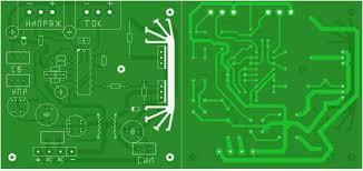 layout pcb inverter high voltage psu pcb power supply circuits