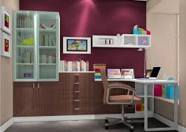 beautiful wall design for study room 3d house