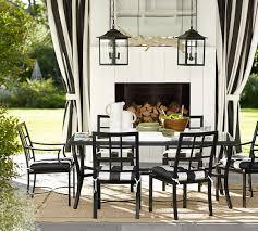riviera rectangular dining table u0026 chair set pottery barn