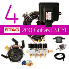 ac stag 200 gofast 4cylinder conversion lpg cng kit