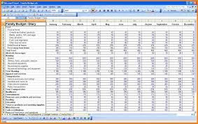 Spreadsheet For Budget by 9 Budget Spreadsheet Excel Monthly Bills Template