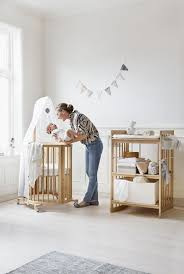 mini crib and changing table a stunning stokke nursery space stokke sleepi mini crib and