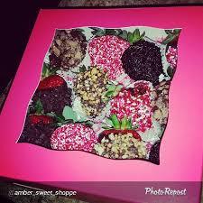 White Pink Chocolate Covered Strawberries 3272 7
